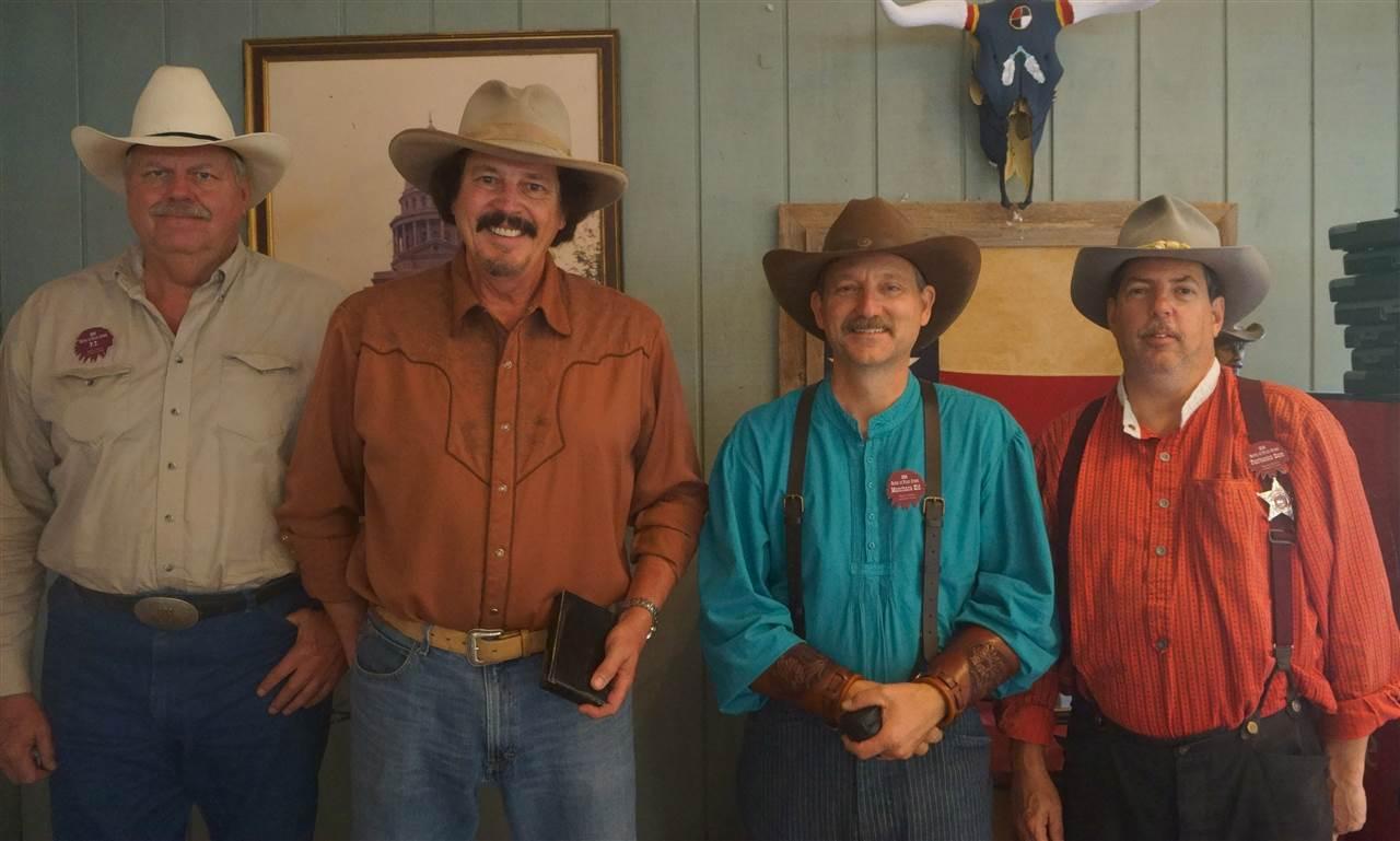 _49'r - Joe Darter & San Gabriel (absent) & Manchaca Kid & P.T. & Fairbanks Sam