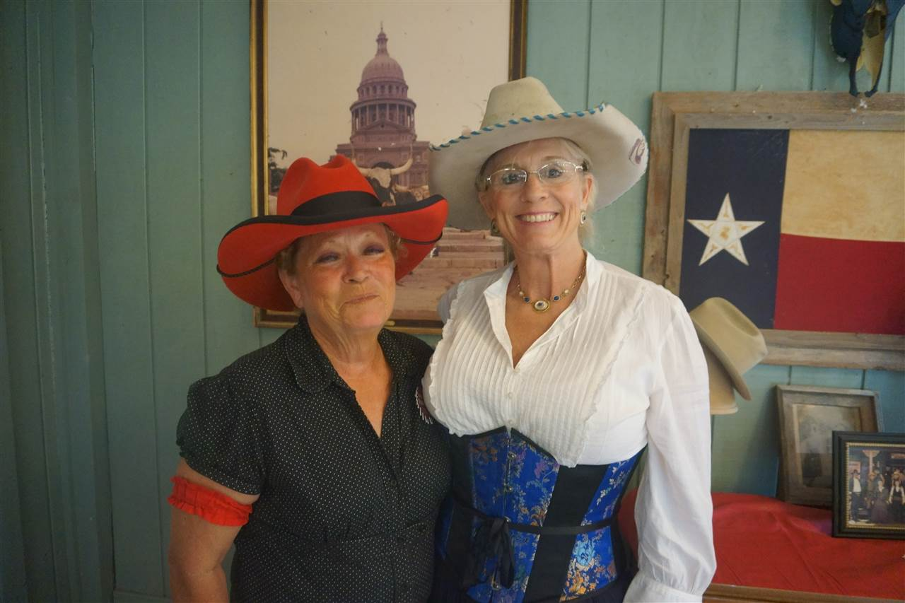 _Ladies Senior Duelist - Shotglass & Squawty Bawdy