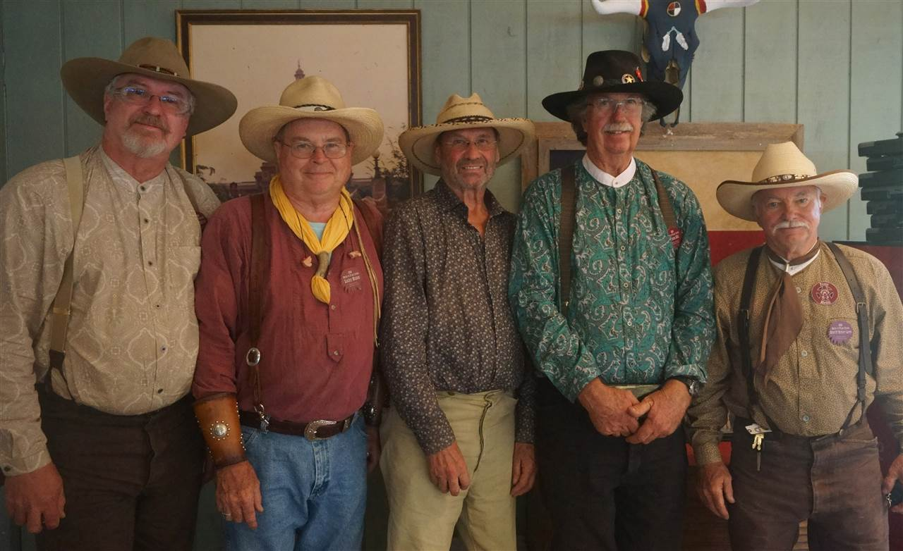 _Silver Senior - Picosa Kid & Splitthumb & Sheriff Robert Love & G W Ketchum & Lucky Nickel